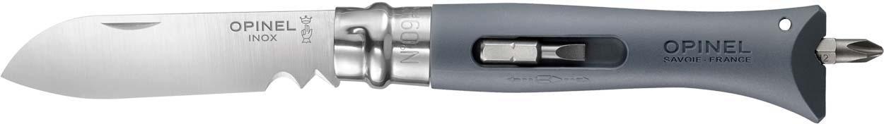 Нож Opinel DIY №9 Inox. серый