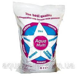 Сорбент Aqua Multi Bio (25 літрів) - фільтруючий матеріал для видалення заліза, жорсткості, марганцю, аміаку