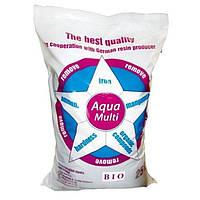 Сорбент Aqua Multi Bio (12 литров) - фильтрующий материал для удаления железа, жесткости, марганца, аммиака