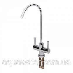 Кран для фільтрів води Aquafilter подвійної в стилі Hi-Tech