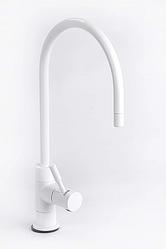 Кран для фільтрів води одинарний білий