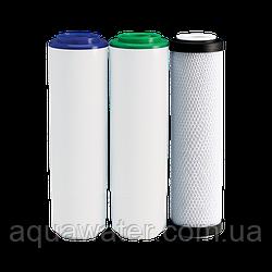 Комплект картриджів Aqua Water покращений для потрійних фільтрів