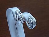 Серьги серебряные, фото 2