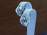 Серьги серебряные, фото 3