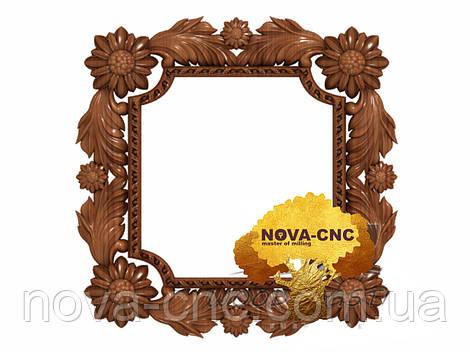 Резная рама из дерева  для картин и зеркал 14
