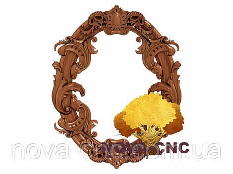 Резная рама из дерева  для картин и зеркал 21