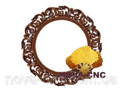 Резная рама из дерева  для картин и зеркал 23