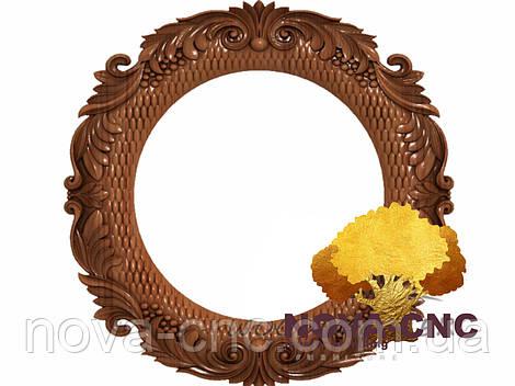 Резная рама из дерева  для картин и зеркал 19