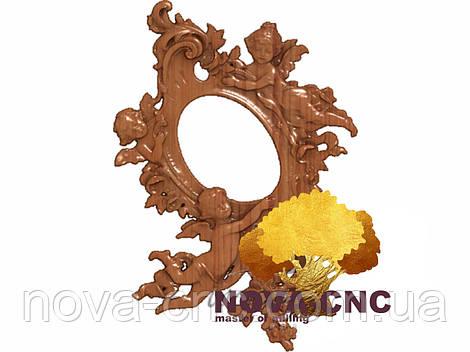 Резная рама из дерева  для картин и зеркал 35