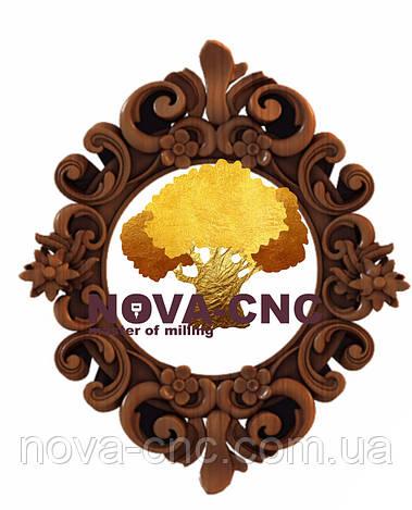 Резная рама из дерева  для картин и зеркал 40