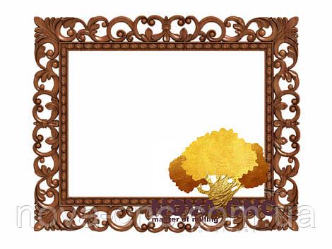Резная рама из дерева  для картин и зеркал 46