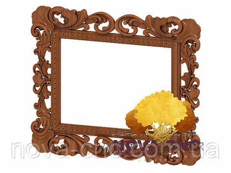 Резная рама из дерева  для картин и зеркал 50