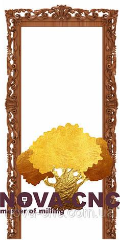 Резная рама из дерева  для картин и зеркал 51