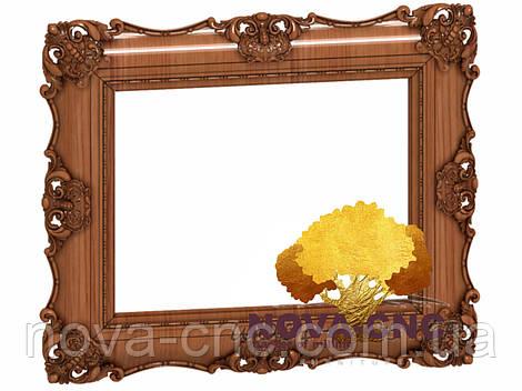 Резная рама из дерева  для картин и зеркал 60