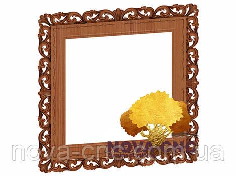 Резная рама из дерева  для картин и зеркал 56