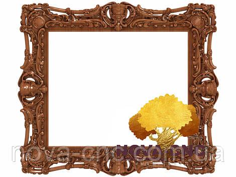 Резная рама из дерева  для картин и зеркал 58