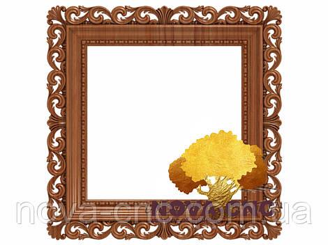 Резная рама из дерева  для картин и зеркал 68