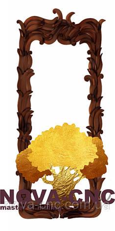 Резная рама из дерева  для картин и зеркал 66