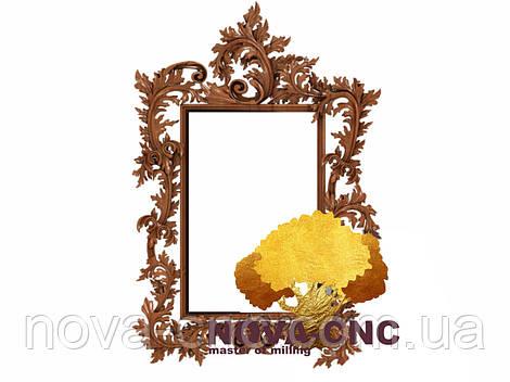 Резная рама из дерева  для картин и зеркал 73