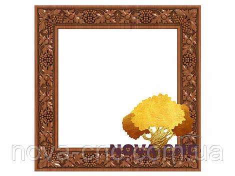 Резная рама из дерева  для картин и зеркал 78