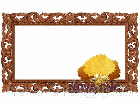 Резная рама из дерева  для картин и зеркал 86