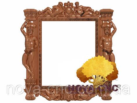 Резная рама из дерева  для картин и зеркал 99