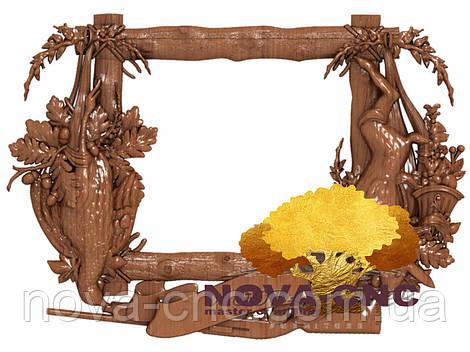 Резная рама из дерева  для картин и зеркал 101