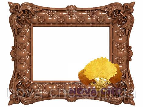 Резная рама из дерева  для картин и зеркал 114
