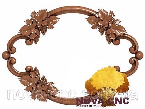 Резная рама из дерева  для картин и зеркал 117