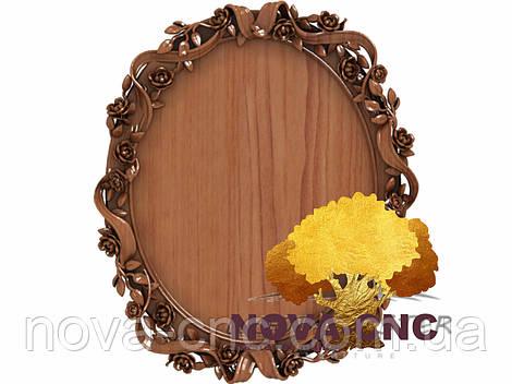 Резная рама из дерева  для картин и зеркал 118