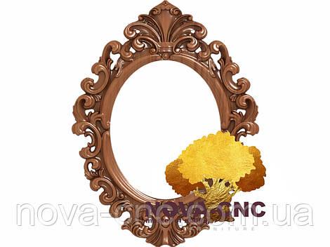 Резная рама из дерева  для картин и зеркал 121