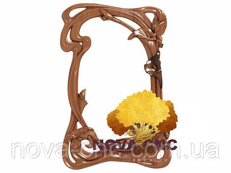 Резная рама из дерева  для картин и зеркал 129