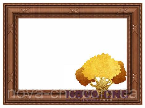 Резная рама из дерева  для картин и зеркал 134