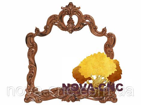 Резная рама из дерева  для картин и зеркал 131