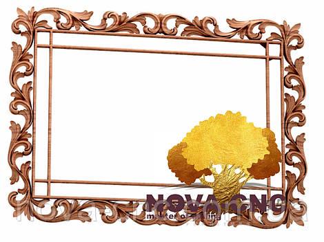Резная рама из дерева  для картин и зеркал 136