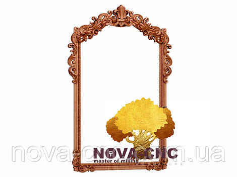Резная рама из дерева  для картин и зеркал 137