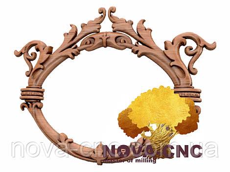 Резная рама из дерева  для картин и зеркал 142