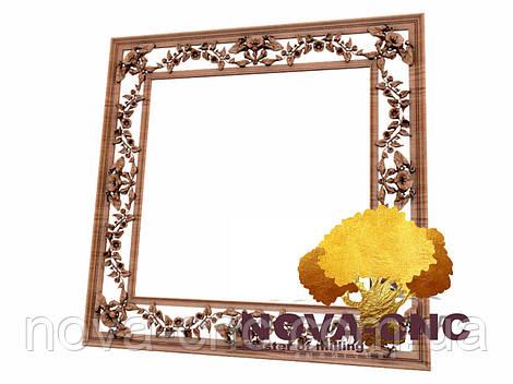 Резная рама из дерева  для картин и зеркал 150