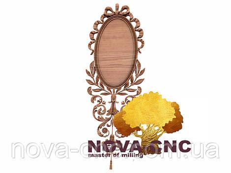 Резная рама из дерева  для картин и зеркал 152