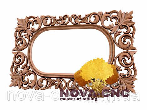 Резная рама из дерева  для картин и зеркал 154