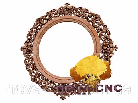Резная рама из дерева  для картин и зеркал 158