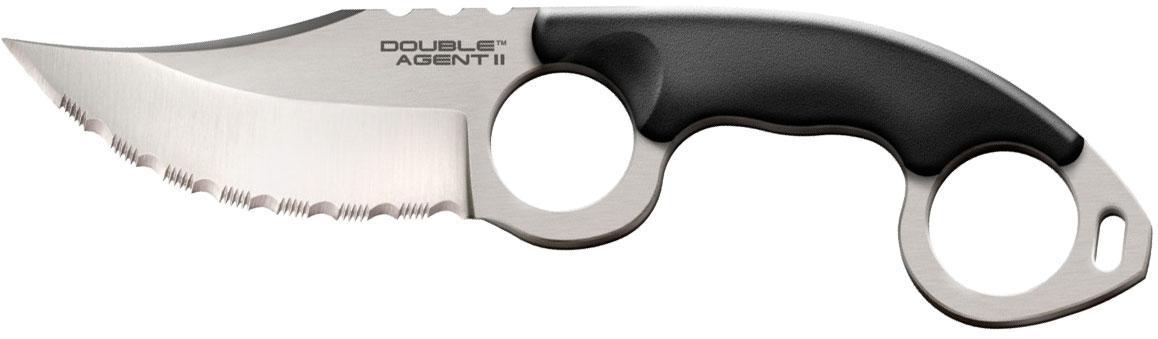 Нож Cold Steel Double Agent II Serrated (блистер)