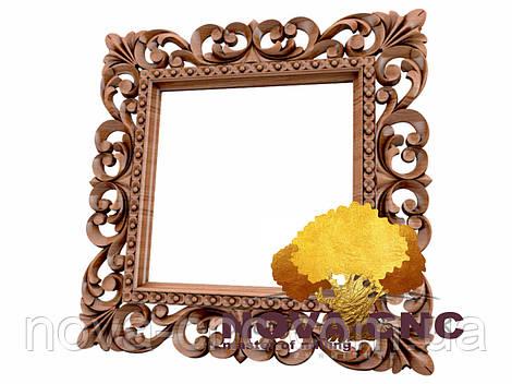 Резная рама из дерева  для картин и зеркал 164