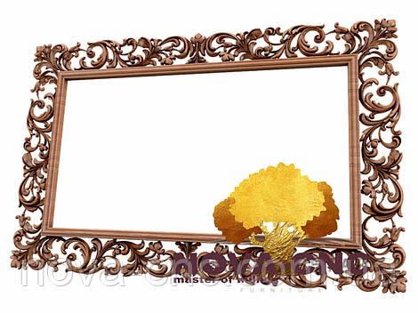 Резная рама из дерева  для картин и зеркал 161