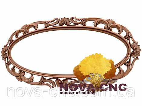 Резная рама из дерева  для картин и зеркал 162