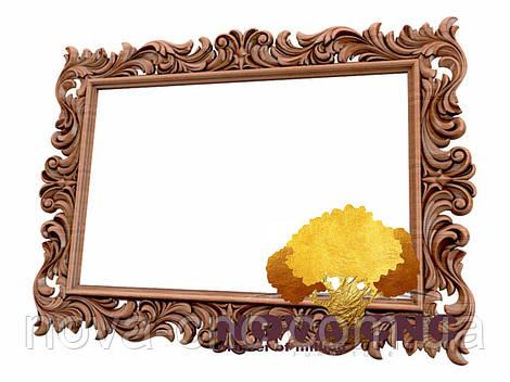Резная рама из дерева  для картин и зеркал 163