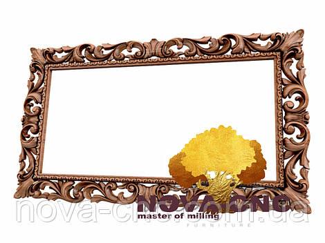 Резная рама из дерева  для картин и зеркал 166