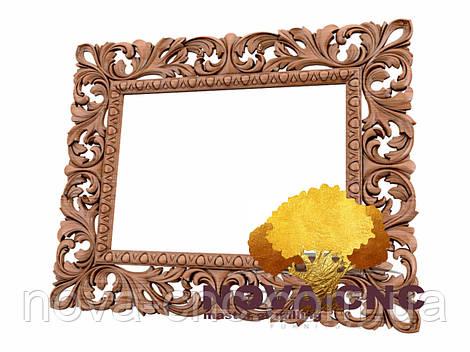 Резная рама из дерева  для картин и зеркал 167