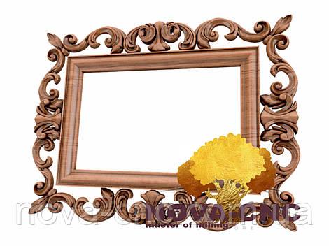 Резная рама из дерева  для картин и зеркал 169