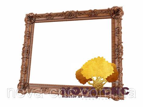 Резная рама из дерева  для картин и зеркал 175